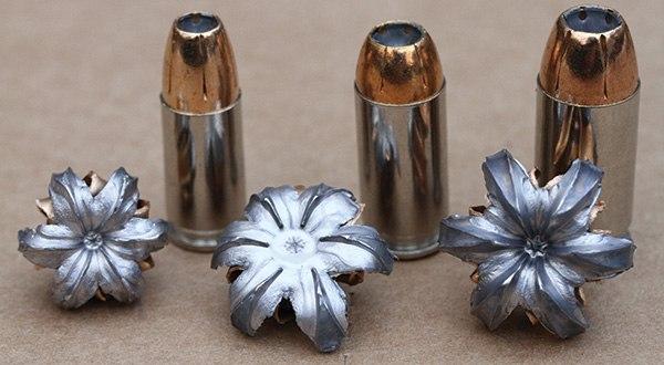 Примеры экспансивности пули HP
