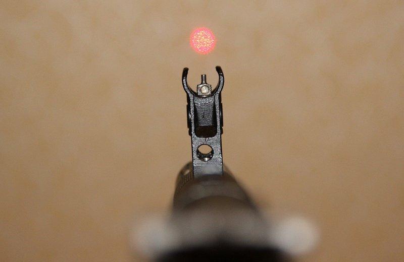 Лазерный патрон холодной пристрелки
