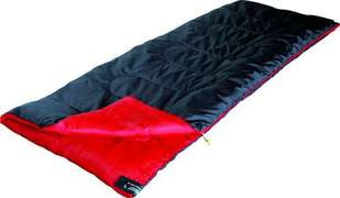 Спальный мешок High Peak Ranger / +7°C (Left) Black/red