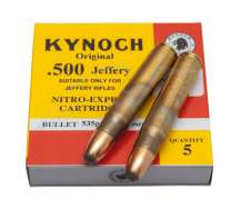 Патрон KYNOCH 500 JEFFERY S 535GR/34.67g