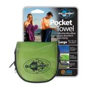 Полотенце Sea To Summit Pocket Towel L lime 60х120 cm