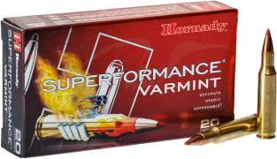 Патрон Hornady Superformance кал. 222 Rem пуля NTX масса 2,27 г /35 гран