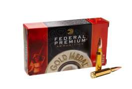 Патрон Federal Gold-Medal 308win Sierra MK BTHP 10,88гр (168GR)
